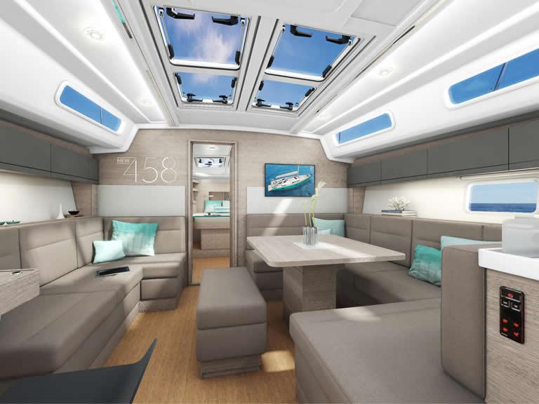 Yachtfinanzierung für die Hanse 458