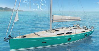 Premiere der neuen Hanse 458 in Cannes